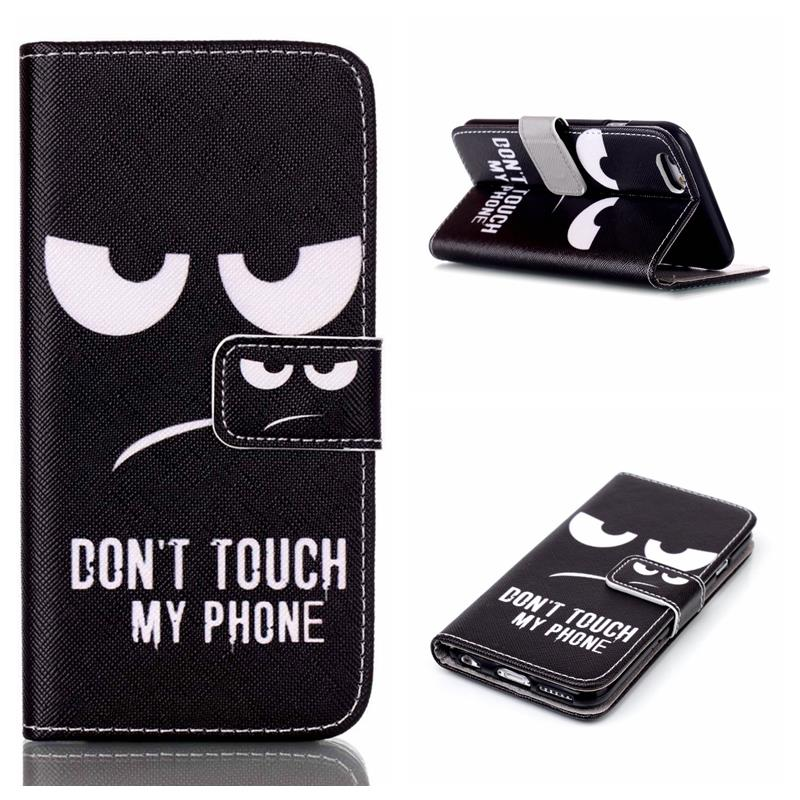 Pouzdro na iPhone 5 / 5S  / SE DON'T TOUCH MY PHONE
