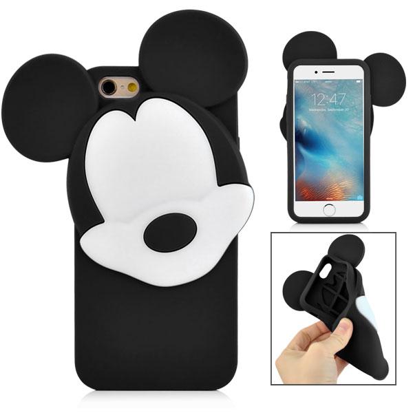 Slicoo iPhone 6   6S kryt 3D Mickey černý  bf3b4370d64