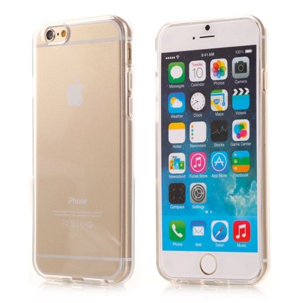Slicoo iPhone 6 / 6S kryt Transparent TPU čirý