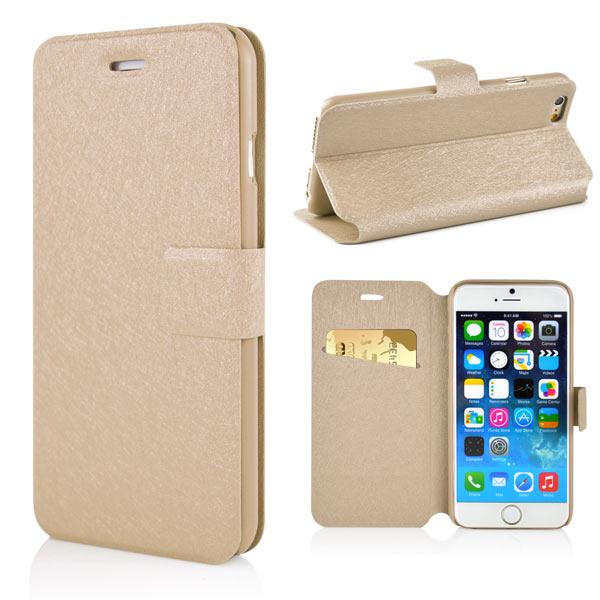 Slicoo iPhone 6   6S pouzdro Silk Print s přihrádkou na kreditní karty zlaté  empty 164e58a6684