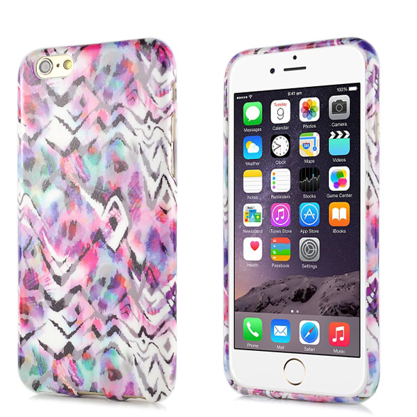 Slicoo iPhone 6 / 6S kryt Zebra TPU