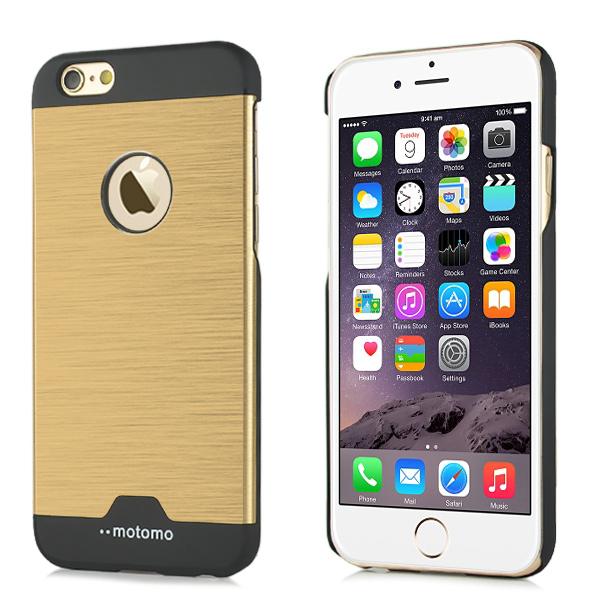 Motomo iPhone 6   6S kryt Ultra Thin Aluminium zlatý empty 06bb300c27c
