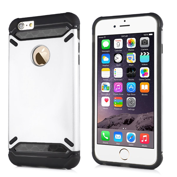 Slicoo iPhone 6 / 6S kryt ShockDefender bílý