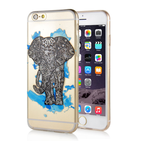 Slicoo iPhone 6 / 6S kryt Elephant