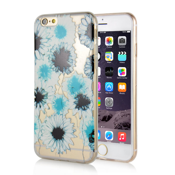Slicoo iPhone 6 / 6S kryt Chrysanthemum