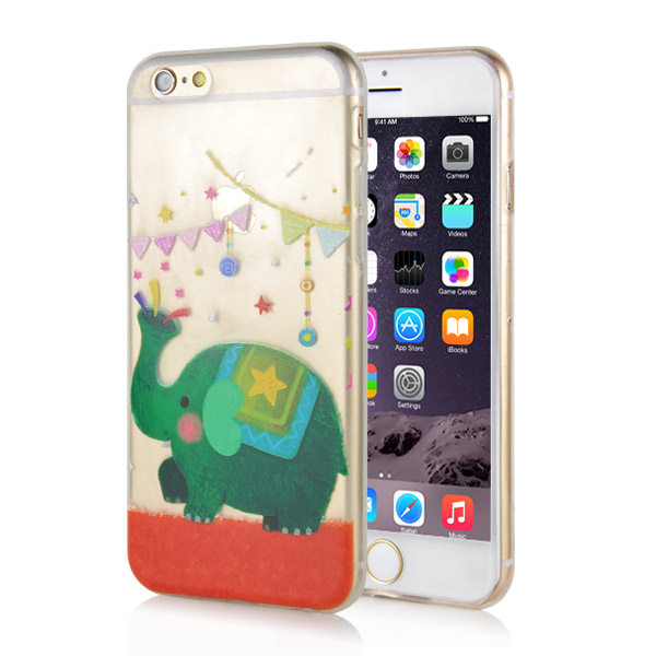 Slicoo iPhone 6 / 6S kryt Cute Elephant