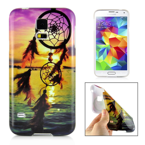 Slicoo Samsung Galaxy S5 kryt Colorful Sunset Dreamcatcher