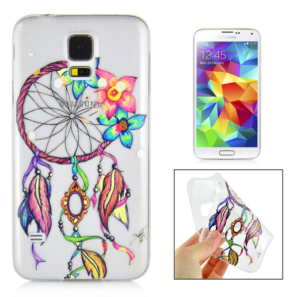 Slicoo Samsung Galaxy S5 kryt Dreamcatcher And Flower
