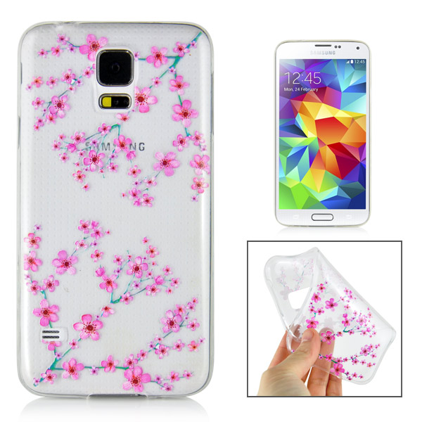 Slicoo Samsung Galaxy S5 kryt Flower