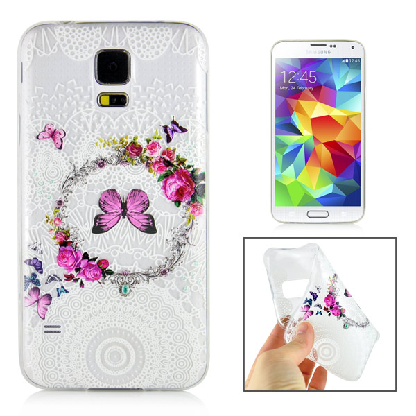 Slicoo Samsung Galaxy S5 kryt Flower Ring