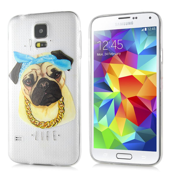 Slicoo Samsung Galaxy S5 kryt Cute Dog