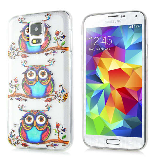 Slicoo Samsung Galaxy S5 kryt Cute Owls