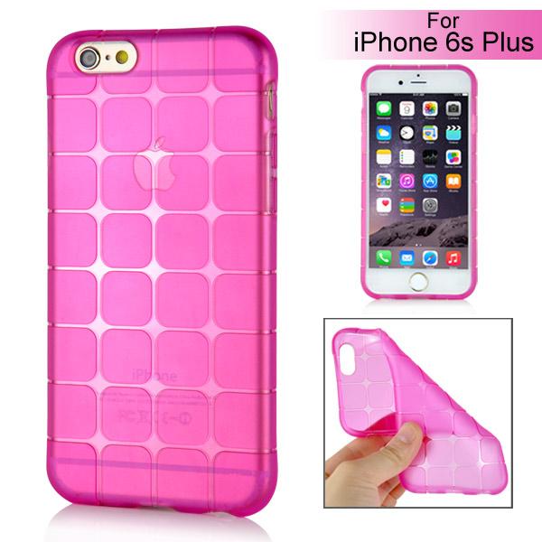 Slicoo iPhone 6 Plus   6S Plus kryt Bubik s Cube růžový empty b0f6e12f5d1