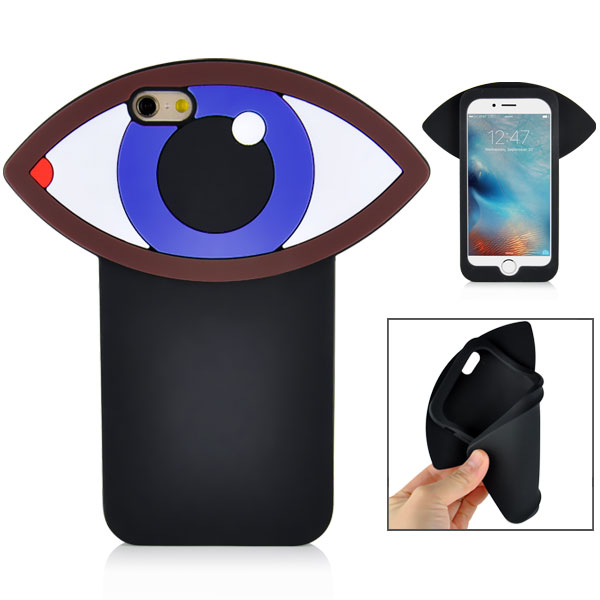 Slicoo iPhone 6 / 6S kryt 3D Huge Eye modrý