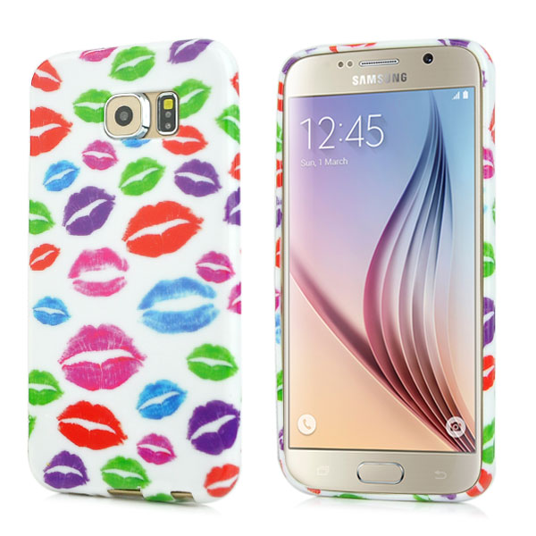 Kryt na Samsung Galaxy S6 Colorful Lips