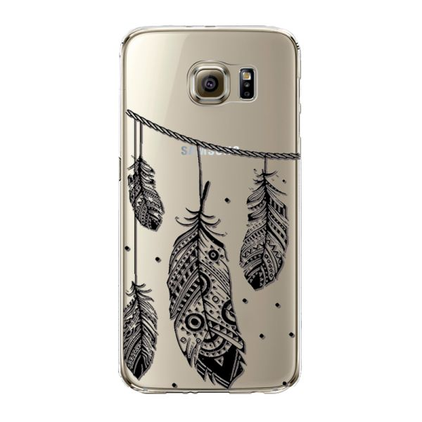Kryt na Samsung Galaxy S6 Feathers
