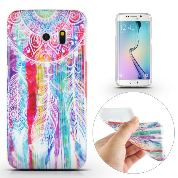 Kryt na Samsung Galaxy S6 Edge Colorful Dreamcatcher