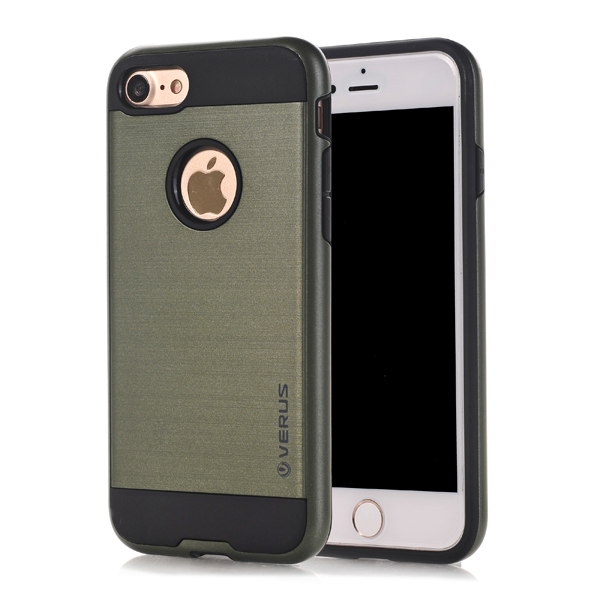 Kryt na iPhone 7 / 8 odolný armor Brushed Army Green