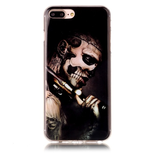Kryt na iPhone 7 Plus / 8 Plus Carry gun skeleton man