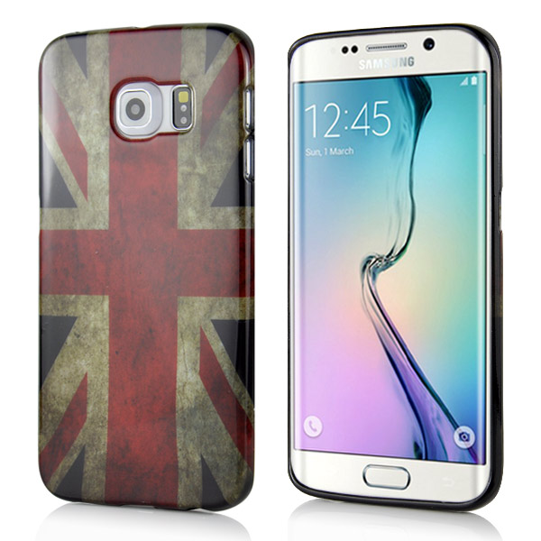 Kryt na Samsung Galaxy S6 Edge UK Flag