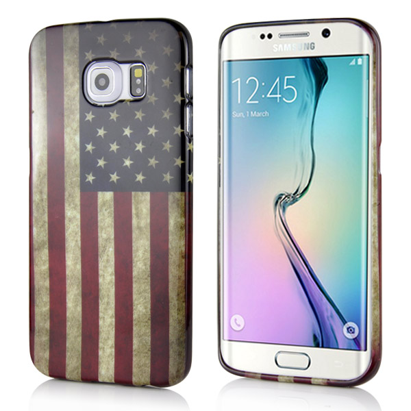 Kryt na Samsung Galaxy S6 Edge USA Flag