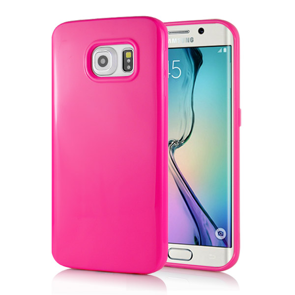 Kryt na Samsung Galaxy S6 Edge Candy Color růžový