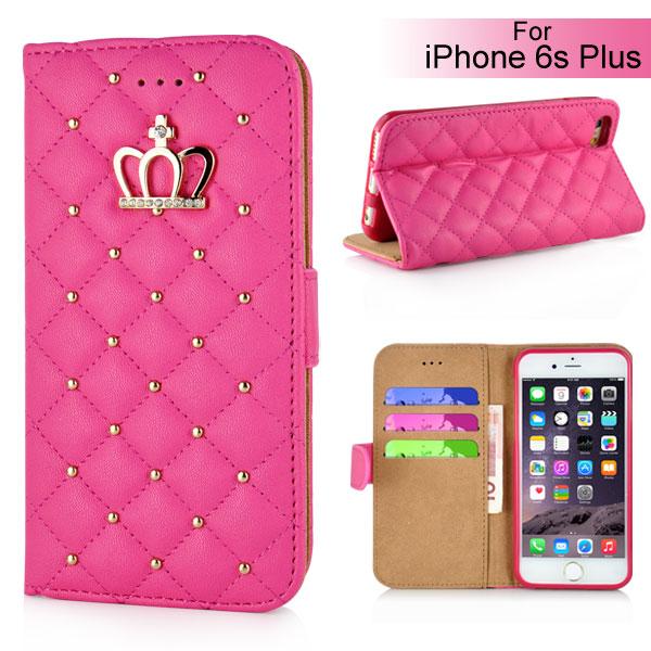 Slicoo iPhone 6 Plus   6S Plus pouzdro Luxury Crown růžové empty 741d4029164