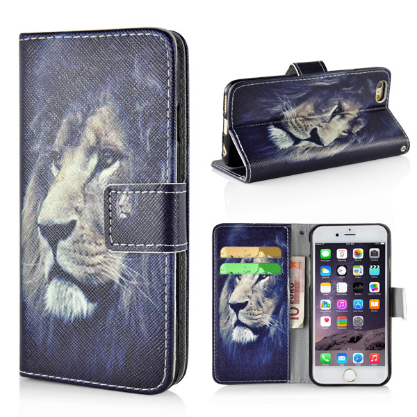 Slicoo iPhone 6 / 6S pouzdro Lion