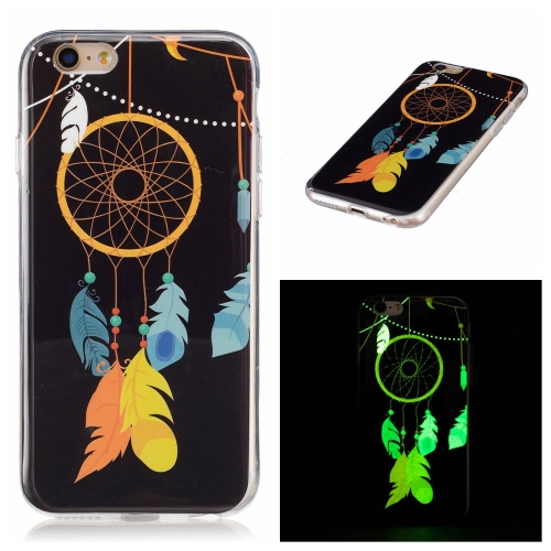 Luminous iPhone 6 / 6S kryt svítící Feather & String
