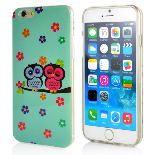 Slicoo iPhone 6 / 6S kryt Owls Pattern