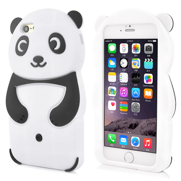 Slicoo iPhone 6 / 6S kryt Panda