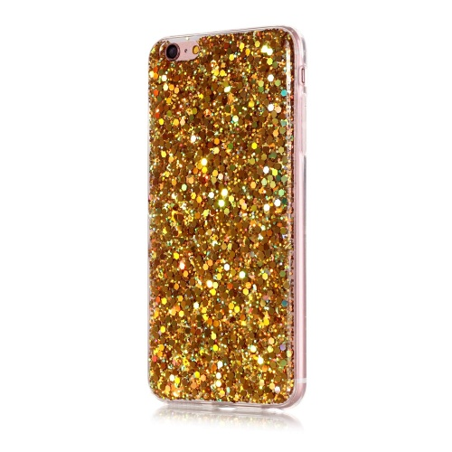 Slicoo iPhone 6 / 6S kryt Glittering Powder zlatý
