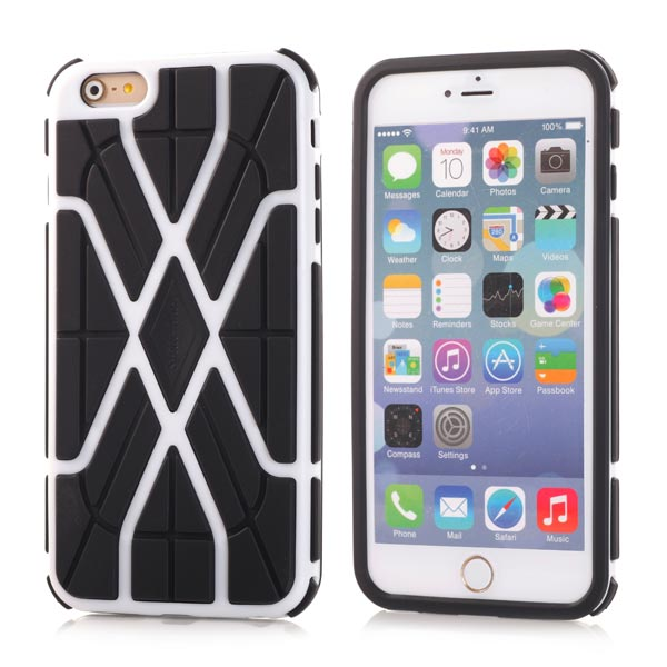 Slicoo iPhone 6 / 6S kryt Sleek Spider TPU bílý