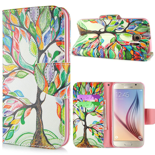 Pouzdro na Samsung Galaxy S7 Edge Beautiful Leaves Tree