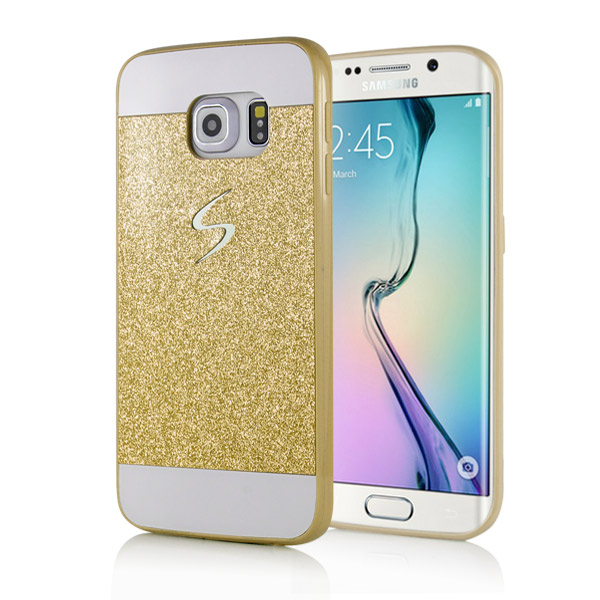 Slicoo Samsung Galaxy S6 Edge Plus kryt Luxury Shiny zlatý