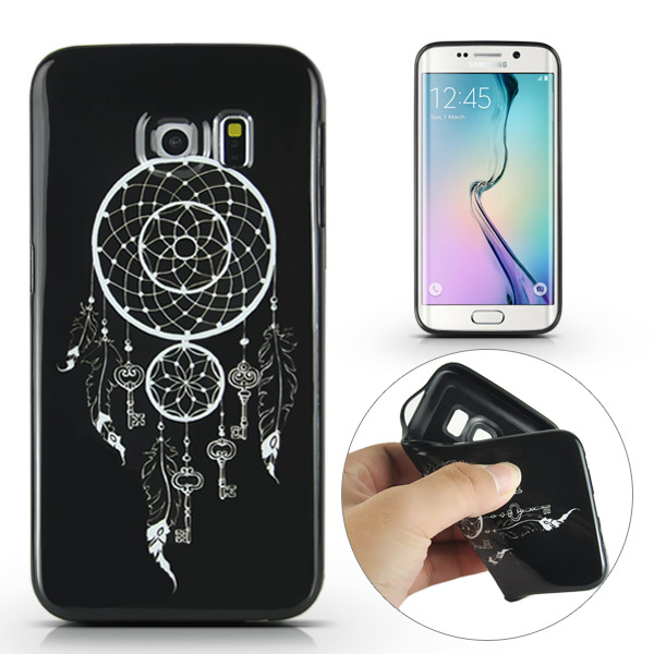Slicoo Samsung Galaxy S6 Edge Plus kryt Black Dreamcatcher