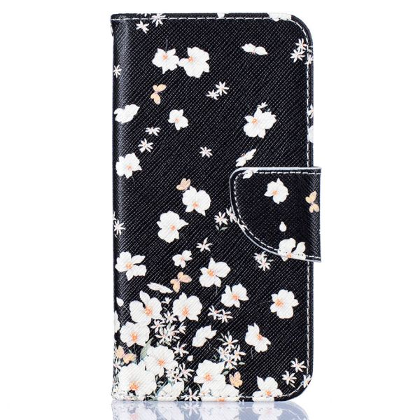 Pouzdro na Samsung Galaxy S7 Edge White flowers