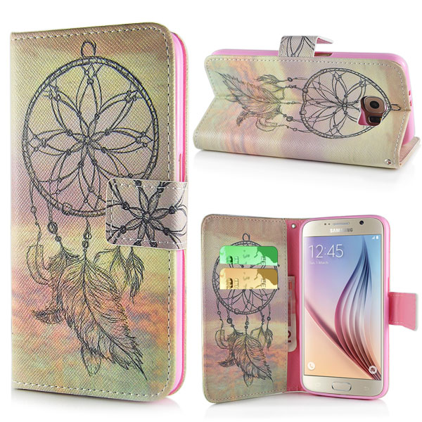 Pouzdro na Samsung Galaxy S6 Yellow Dreamcatcher