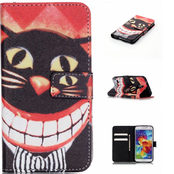 Slicoo Samsung Galaxy S5 pouzdro Smile Cat