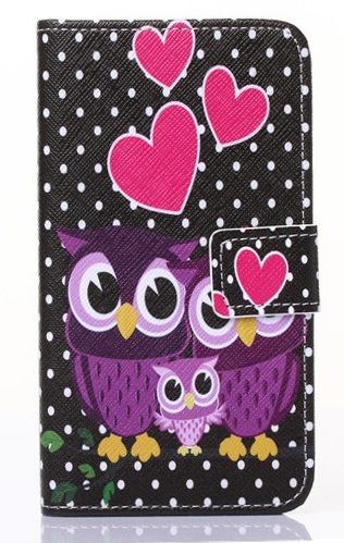 Slicoo Samsung Galaxy S5 pouzdro Owls family