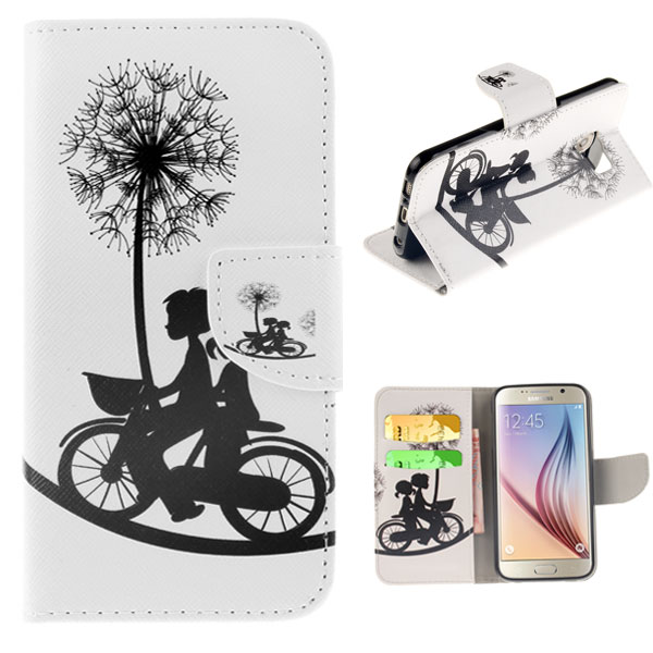 Pouzdro na Samsung Galaxy S6 Bicycle And Dandelion