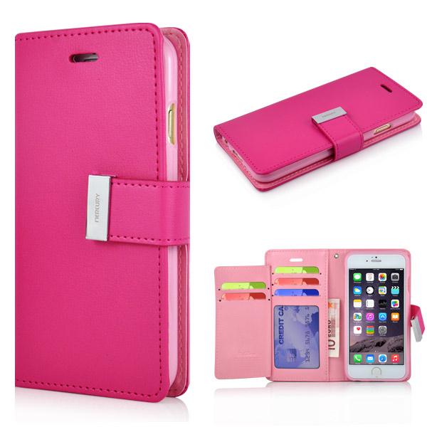 Pouzdro na iPhone 5   5S   SE RICH DIARY růžové empty eb8a36ffa05