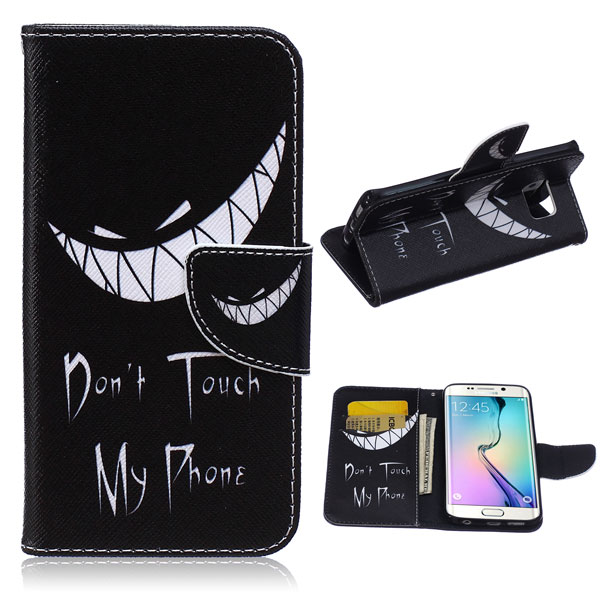 Pouzdro na Samsung Galaxy S7 Evil Smile Do Not Touch My Phone