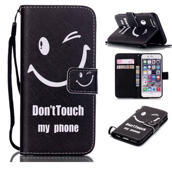 Pouzdro na iPhone 5 / 5S  / SE Don't Touch My Phone smile