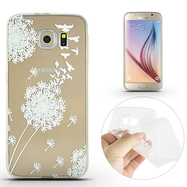 Kryt na Samsung Galaxy S6 Dandelion And Dove