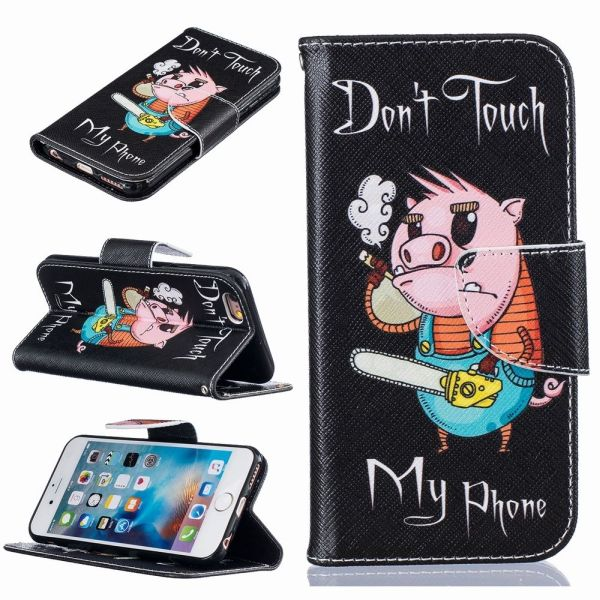 Pouzdro pro iPhone 7 / 8 Don't Touch My Phone Pig