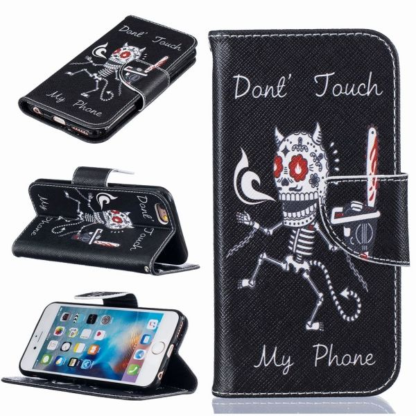 Pouzdro pro iPhone 7 / 8 Don't Touch My Phone Skeleton