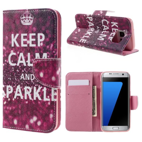 Pouzdro na Samsung Galaxy S7 Edge KEEP CALM