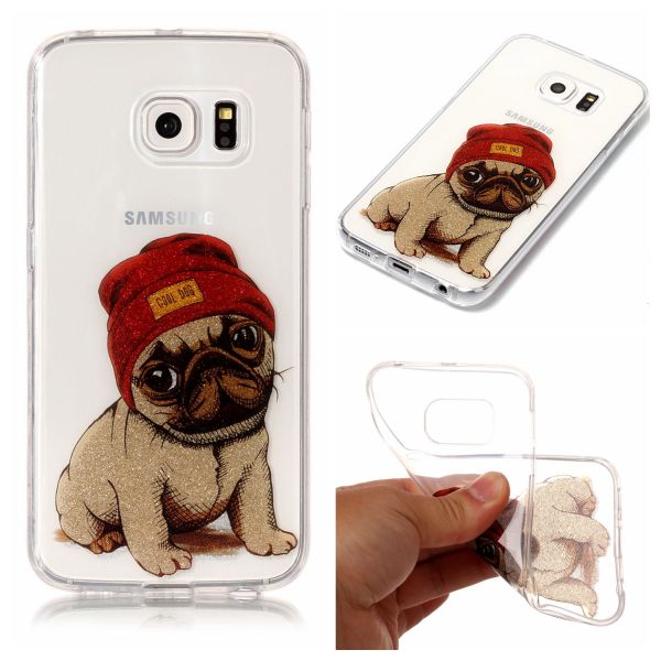 Kryt na Samsung Galaxy S6 Edge Dog