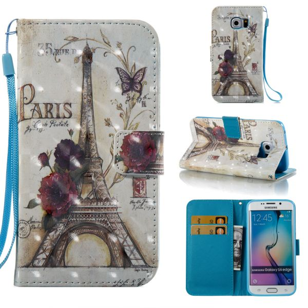 Pouzdro na Samsung Galaxy S6 Edge Paris